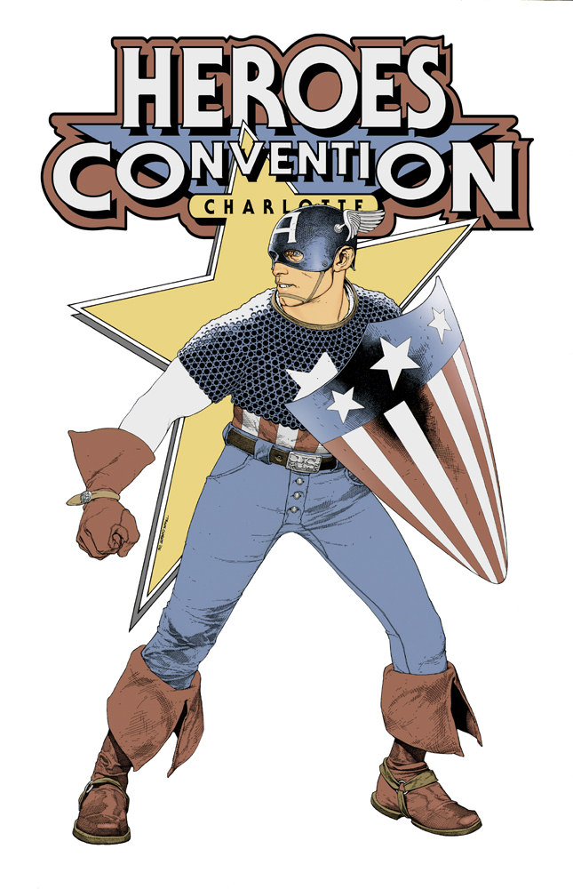 Cover to Heroes Convention program