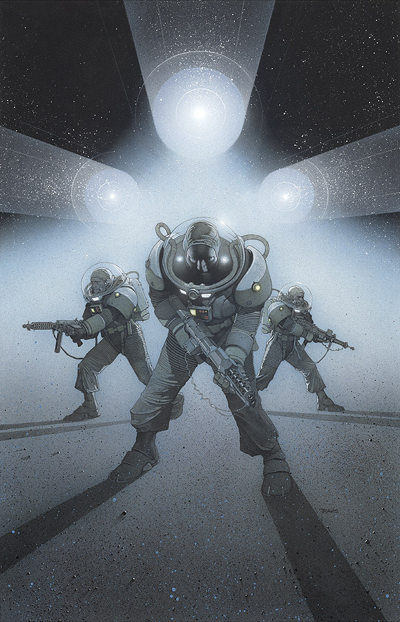 Cover to Star Wars: Knights of the Old Republic #4 by Travis Charest