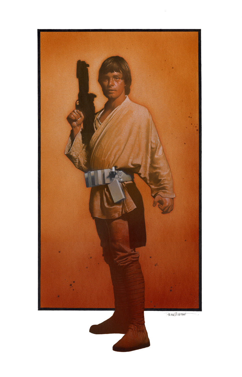 Full Color Luke Skywalker