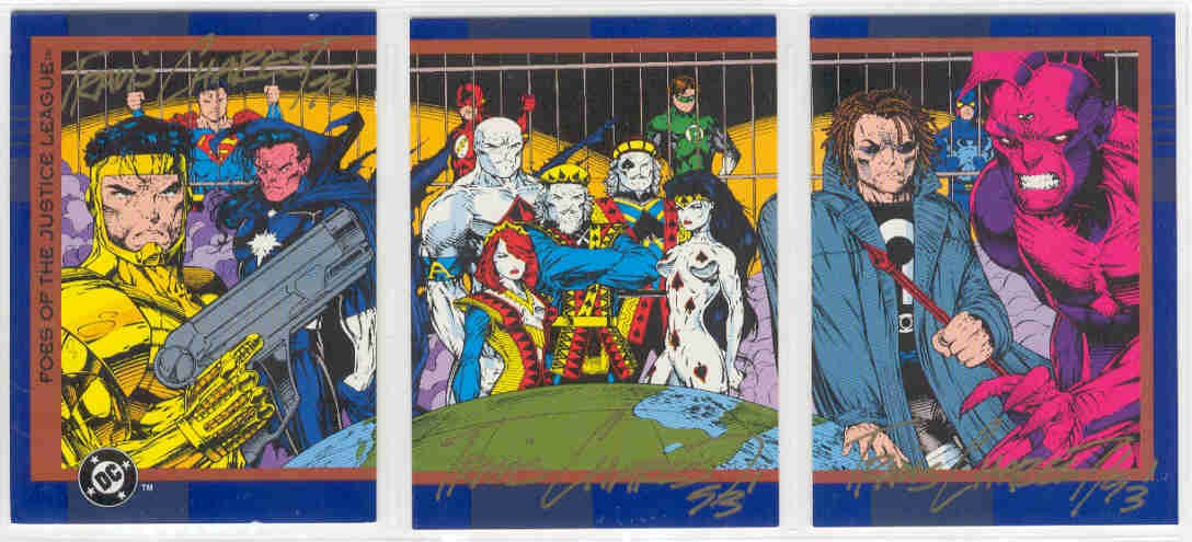 JLA Gallery of Foes Cards