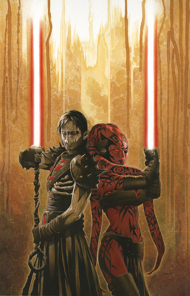 Cover to Star Wars Legacy #18 by Travis Charest