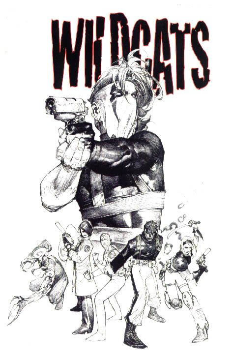Alt cover to Wildcats #1 Vol 2