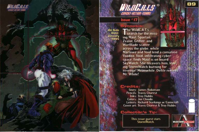 WildC.A.T.s Card Issue #17