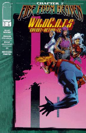 Cover to Issue #29 Wildcats Vol1