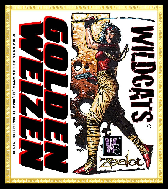 Label to Wildstorm beer
